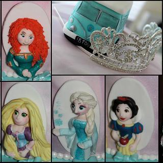 Princess Cake - Cake by cakesofdesire