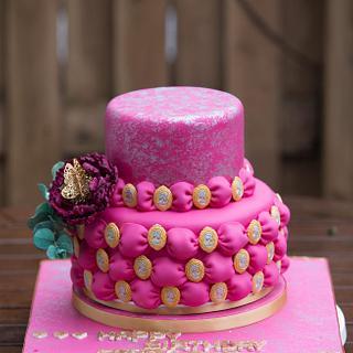 Birthday cake - Cake by SAIMA HEBEL