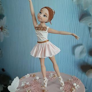Ballerina cake - Cake by Couture cakes by Olga