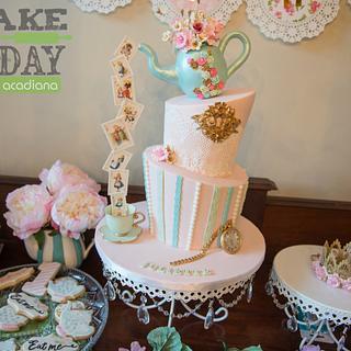 Whimsical tea party