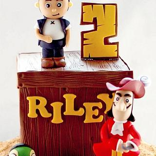 Jake and the Neverland Pirates - Cake by Annie