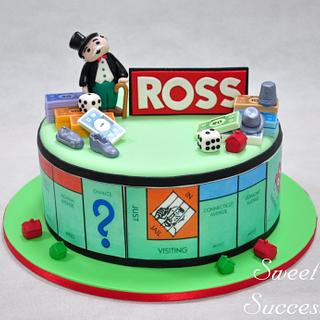 Monopoly Cake - Cake by Sweet Success