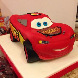 Rayo Mcqueen Cake, Cars Cake - Cake by Mónica