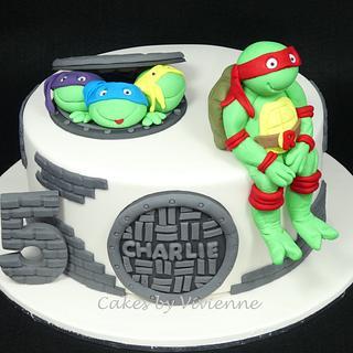 Ninja Turtle Birthday Cake - Cake by Cakes by Vivienne
