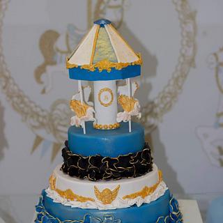 Rotating Carousel cake - Cake by Kremena Boteva