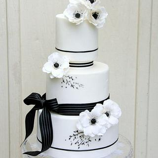Beauty in Simplicity - Cake by Ivone - Sugar Penguin Cakery