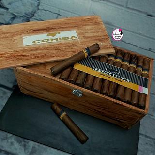 Cigar Box or Cake
