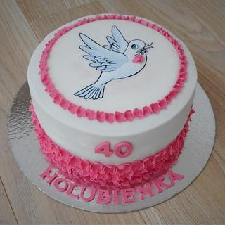 Birthday cake  - Cake by Janka