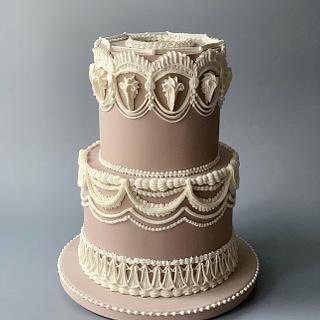 Happy Anniversary  - Cake by Dsweetcakery