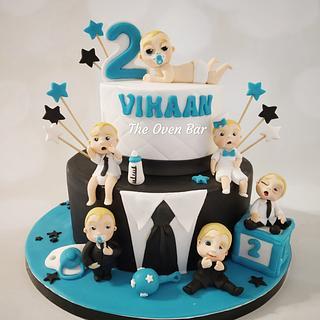 BOSS BABY Theme cake