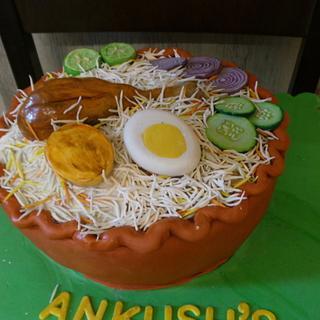 Biriyani cake