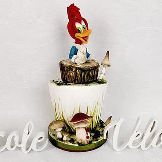 Woody Woodpecker cake  - Cake by Nicole Veloso