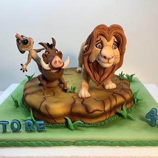 Simba & Co  - Cake by Carla Poggianti Il Bianconiglio