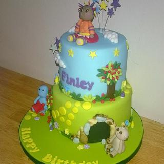 In the night garden 2 tiered birthday cake - Cake by T cAkEs