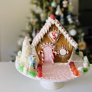 Gingerbread house 💕