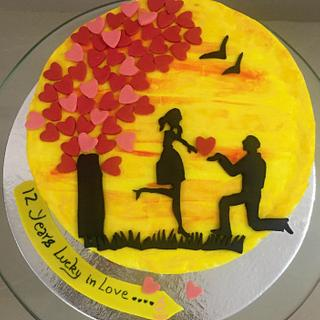 Love is all You need - Cake by Sheeba
