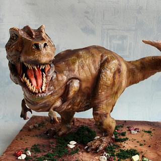 Торт Динозавр   - Cake by Екатерина Андриянова