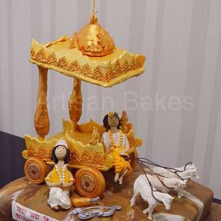 Mahabharat cake