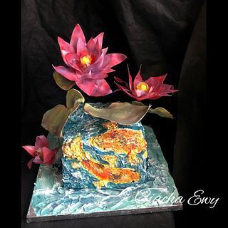Pond - Cake by Ewa