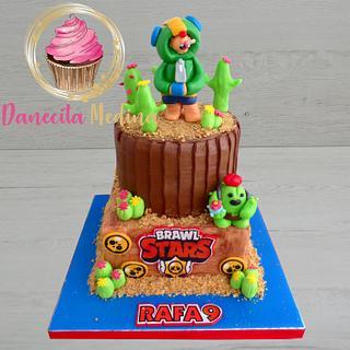 TARTA BRAWL STARS - Cake by Danecita Medina