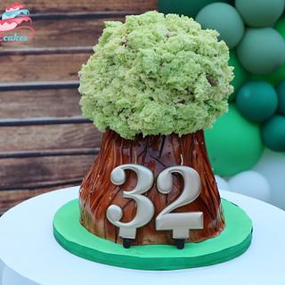 3D Tree cake - Cake by Zcakes