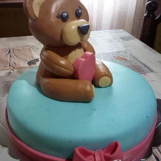 Teddy bear cake - Cake by Zoca