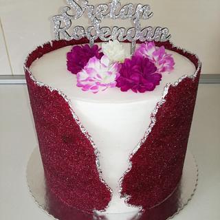 Sugarsheet cake