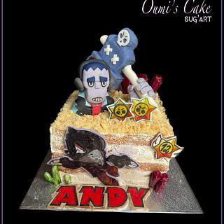 Brawlstars Cake - Cake by Cécile Fahs