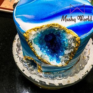 Geode Cake