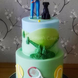 Bespoke 50th birthday cake