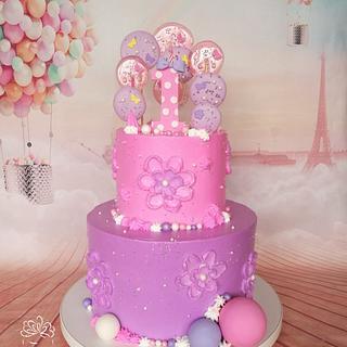 Lollipops cake