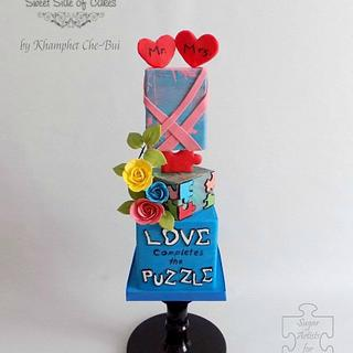 Love Completes the Puzzle @Sugar Art 4 Autsim
