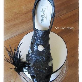 Gladiator black sandal!!!!