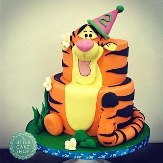 Tigger Tier Cake