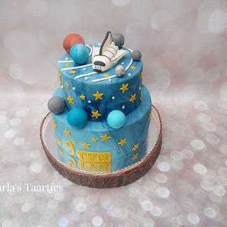 space travel cake