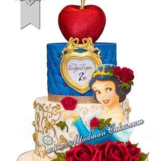 "Snow White Princess Cake / Торта ""Снежанка"""