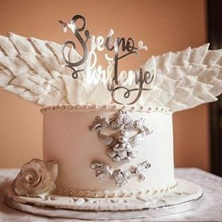 Baptism cake - Cake by Dijana