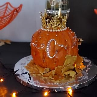 Princess Pumpkin Cake