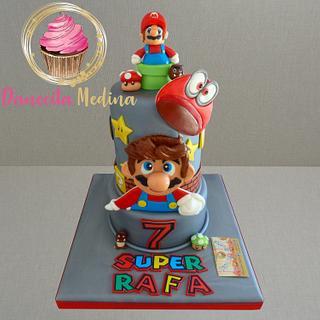 TARTA MARIO BROS - Cake by Danecita Medina