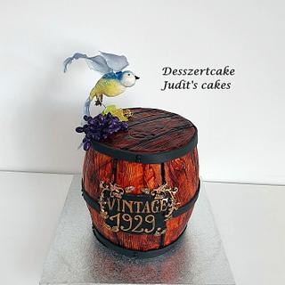 Wine barrel cake - Cake by Judit