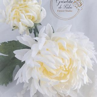 chrysanthemum wafer paper