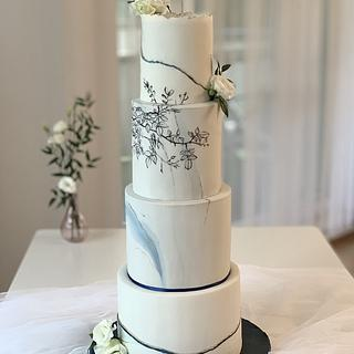 Wedding cake - Cake by SWEET architect