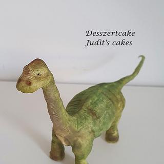 Sugar Dinosaur - Cake by Judit