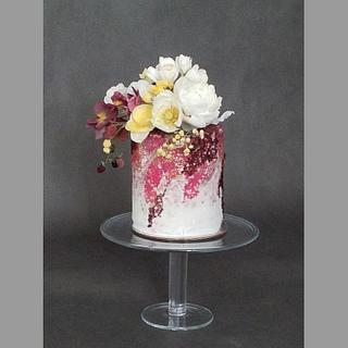 85th birthday cake for Gabriela