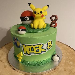 Pokémon-/Pikachu-cake - Cake by Bonnie's 🧡 Bakery