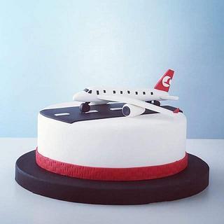 Aeroplan Cake - Cake by Mora Cakes&More
