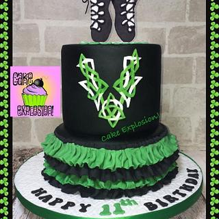 Irish Dancer Cake