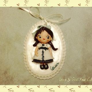 Romantic mini doll