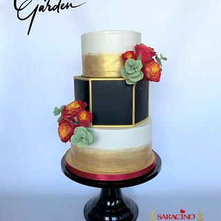 Weddingcake - Cake by Cake Garden