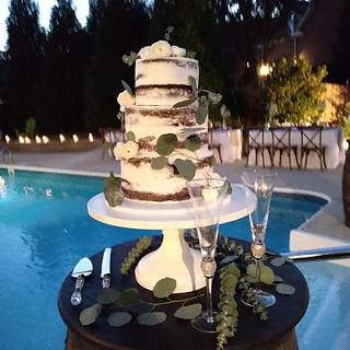 wedding cake - Cake by WitchyCaker